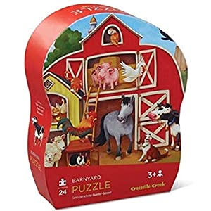 Crocodile Creek 4119-9 Puzzle Puzzle - Rompecabezas (Puzzle Rompecabezas, Granja, Preescolar, Niño/niña, 3 año(s), Interior)