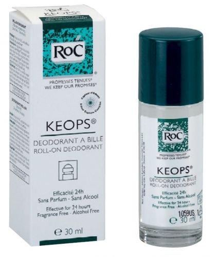 Roc Keops Desodorante Roll On 30 ml - Sin fragancias