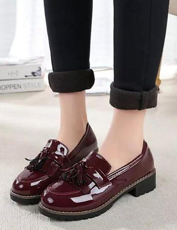 ZQ 2016 Zapatos de mujer - Tacón Robusto - Comfort / Punta Redonda / Punta Cerrada - Oxfords - Exterior / Casual...