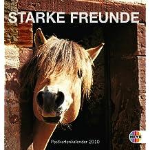 Pferde - Starke Freunde 2010. Postkartenkalender
