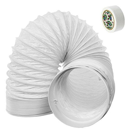 SPARES2GO Schlauch Rohr PVC Leitung Erweiterung Kit für Delonghi Luft Klimaanlage (3m, 5 Zoll) -