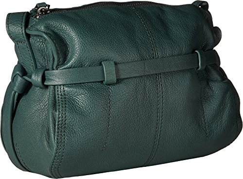 Liebeskind Fremont Borsa a tracolla pelle 21 cm feather green