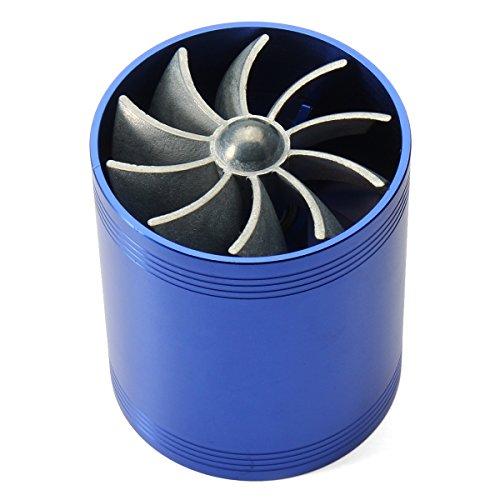 Plat Firm Turbo Gassparer Turbolader Doppelter Lüfter für Turbolader Stromversorgung des Turboladers Blauer Turbolader