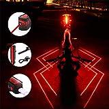 Plextone, fanale Posteriore a LED a 3 modalità, 2 Confezioni, Zaino da Corsa Notturna, Ideale per Qualsiasi Bici da Strada, Decorazione per caschi