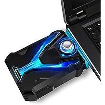 TekHome Super Vacuum Fan Laptop Cooler, Mate Gaming, Alta Compatibilità w/ 4 Junction Sudari, Regolabile Velocità del Vento, Nastro Riutilizzabile, di Risparmio Energetico di Raffreddamento. (LTC001)