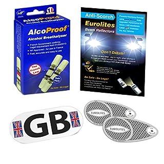 EUROLITES Euro Scheinwerfer Beam Konverter + alcoproof Twin Pack + magnetisch GB Teller
