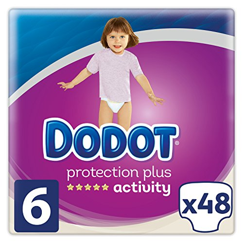 Dodot Windeln Protection Plus Activity, Größe 6, für Babyphone 13 + kg - 48 Windeln