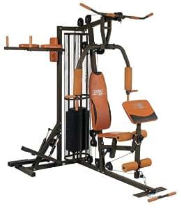 Christopeit Fitness-Station Profi Center, Braun, 9188