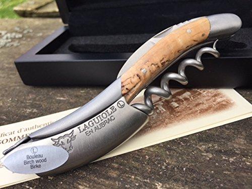 Laguiole en Aubrac Sommelier Kellnermesser SOM99BHI Birke Bouleau