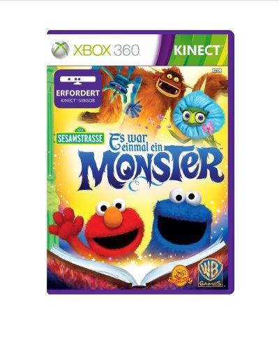 Sesamstrasse - Es war einmal ein Monster (Kinect) Xbox 360 Spiele Für Kinder
