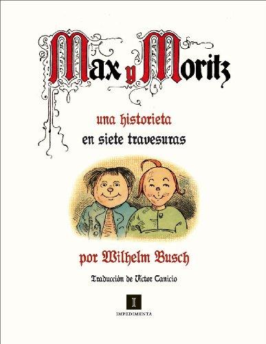 Max y Moritz: Una historieta en siete travesuras (El mapa del tesoro) por Wilhelm Busch