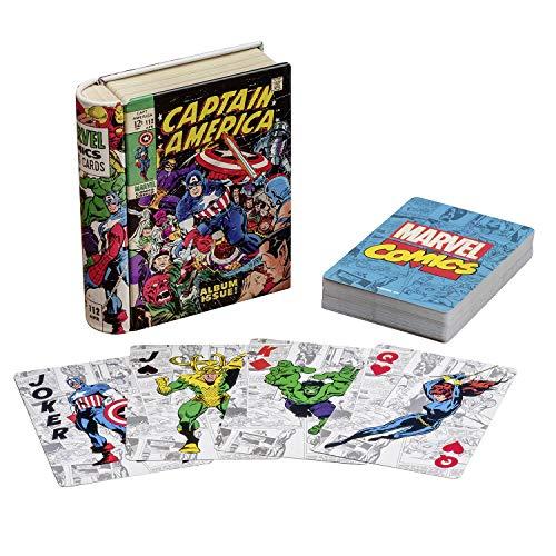 rhelden Spielkarten & Blechdose - Premium Kartendeck, 52 Karten ()