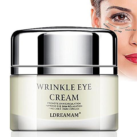 Eye Cream,Eye Gel,Anti-Aging Eye Cream - Minimizes Fine Lines, Reduces Puffiness & Dark Circles, Anti Aging Skin Nourishes Skin & Fights Wrinkles Night and Day Moisturizing
