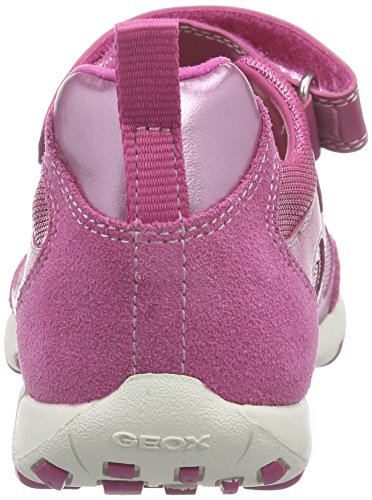 Geox Jr Freccia A, Ballerines Fille Rose (C8002)