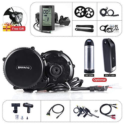 Bafang BBS01B 36V 250W Mid Motor Kit Kit di conversione Bici Motore Elettrico a Motore Elettrico per Bicicletta