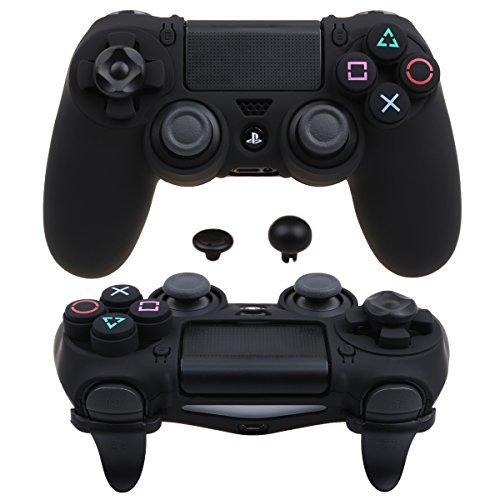 Pandaren® Ultra Rüstung Gang FPS Schale Gehäuse für PS4 Controller (schwarz) - Gang Faceplate