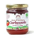 250 gr - Miele biologico di corbezzolo sardo prodotto dagli apicoltori artigiani di Terrantiga, Sardegna