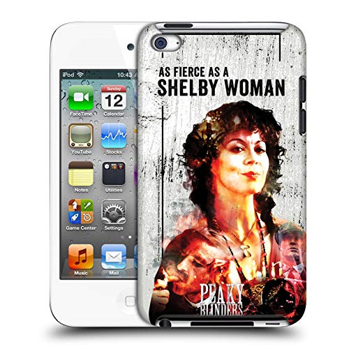 Head Case Designs Offizielle Peaky Blinders Polly Gray Darsteller Kunst Harte Rueckseiten Huelle kompatibel mit Apple iPod Touch 4G 4th Gen Gray 4g Ipod