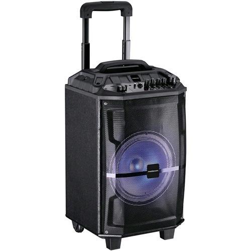 Mediacom M-TRSP120 Altoparlante Bluetooth, Nero