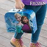 Valigetta Frozen Principesse Anna ed Elsa Gioco Bambine Idea Regalo