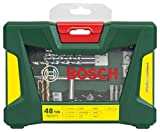 Bosch 2607017314 V-Line Coffret de 48 Outils de perçage/vissage