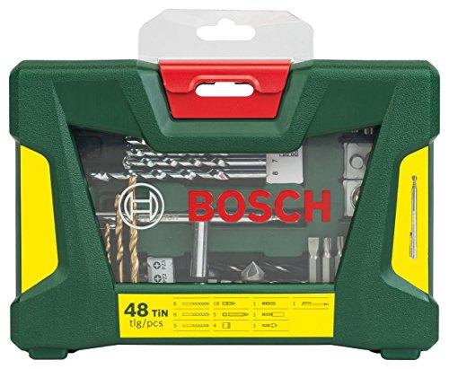 Bosch 48tlg. V-Line Titatium-Bohrer- und Bit-Set mit Magnetstab