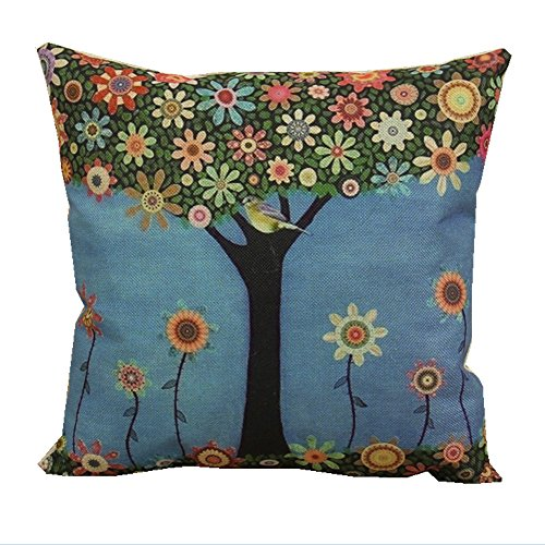 Tree Cushion Amazoncouk