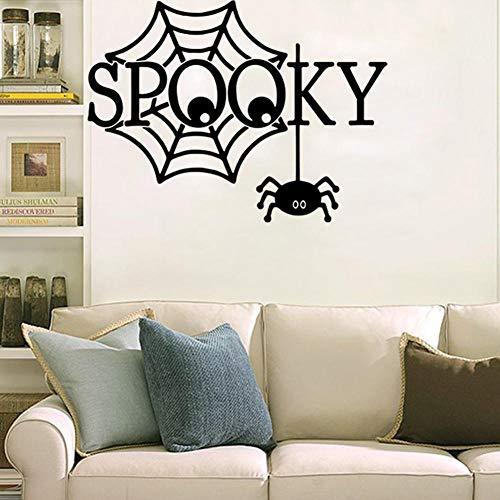 DIY Halloween Gruselige Wandsticker Hostel wohnen Dekoration Aufkleber ()
