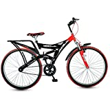 #7: Hero Ranger Single Speed(without Shox) Dtb Vx 26T Mountain Bike - Red & Black (19.7