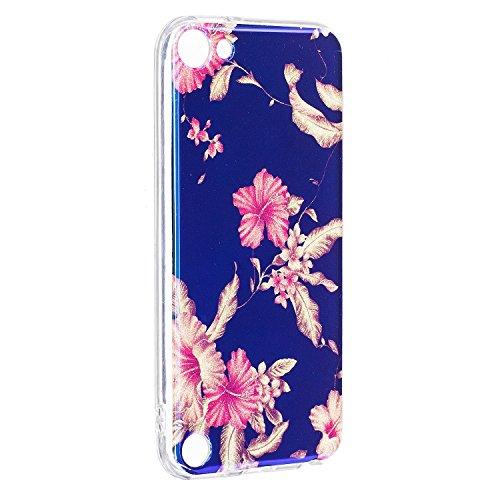 JIALUN-étui pour téléphone Pour Apple IPod Touch 5 & 6 Case, étui de couverture de couverture arrière imprimé ( Color : E ) B
