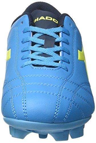 Diadora Herren 6play MD Fußballschuhe Blau (Blu Fluo/giallo Fluo)