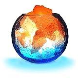 FANHAO Himalayan Salt Lamp, Release Negative Ion Purifying Air, LED Night Light Salt