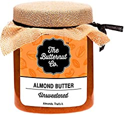 The Butternut Co. Almond Butter, Unsweetened, 200g