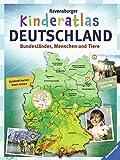 Ravensburger Kinderatlas Deutschland: Bundesländer, Menschen und Tiere - Andrea Schwendemann