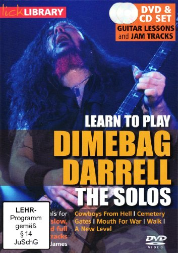 to Play Dimebag Darrell - The Solos (+ Audio-CD) ()