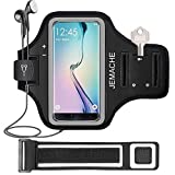 Galaxy S10/S9/S8 Armband, JEMACHE Gym Running/Jogging