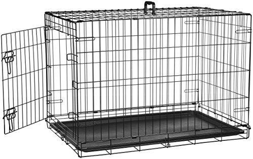 AmazonBasics Cage pliante en métal avec 1porte pour...
