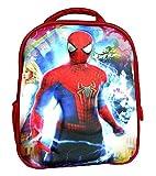 Best Preschool Backpacks - Worldcraft 3D Spiderman 13 inch Red Waterproof Children's Review