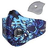 Sport Maske Radfahren Laufen Outdoor Gesichtsmaske Starter Training Maske für Männer und Frauen (Blau)