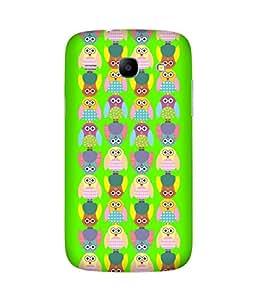Stripes And Elephant Print-7 Samsung Galaxy Core I8260 Case