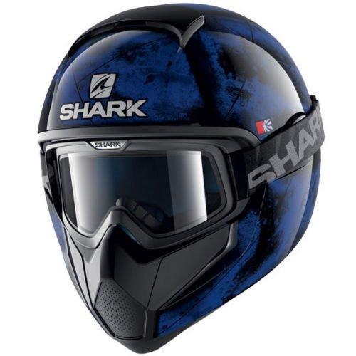 Casco integral Shark Moto Cross VANCORE Flare KBK Modelo 2017Talla S