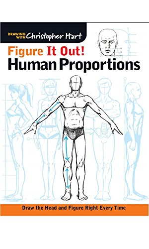 Figure It Out! Human Proportions: Draw the Head and Figure Right Every Time (Christopher Hart Figure It Out!) (English Edition)