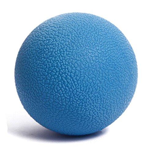 HENGSONG Fitness Massage Ball für Rücken, Gesäß und kleine schwer erreichbare Triggerpunkte (Blau)