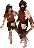 Orlob Steinzeit Herren Kostüm Neandertaler zu Karneval Fasching Gr.50/52