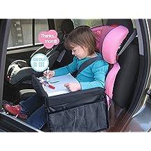 Bandeja de viaje para niños Mustone, para asientos de bebé ...