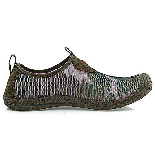 Xiang Guan Hommes Confortable De Plein Air Sport Randonnée Nylon Chaussures 33119 Armée Verte