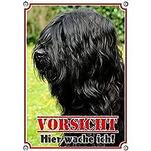 BRIARD Berger de Brie BRD 05 T1 ++ Metall WARNSCHILD Schild Hundeschild Sign