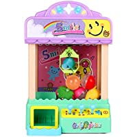 Lossomly Candy Rag Doll Grabber Mini Clip Doll Machine Kids Grab Toy Garra automática Máquina tragamonedas
