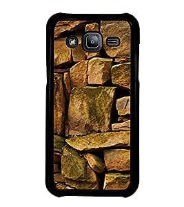 Fuson Designer Back Case Cover for Samsung Galaxy J5 (2015) :: Samsung Galaxy J5 Duos (2015 Model) :: Samsung Galaxy J5 J500F :: Samsung Galaxy J5 J500Fn J500G J500Y J500M (Stones Strong Stones sea Stones Stone Wall Small Stones)