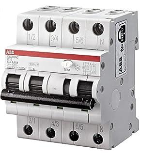 ABB SACE S.P.A. DS3NC16AC300 - DS203NC INT DIF MAG 6 KA 3P+N AC C16 300MA